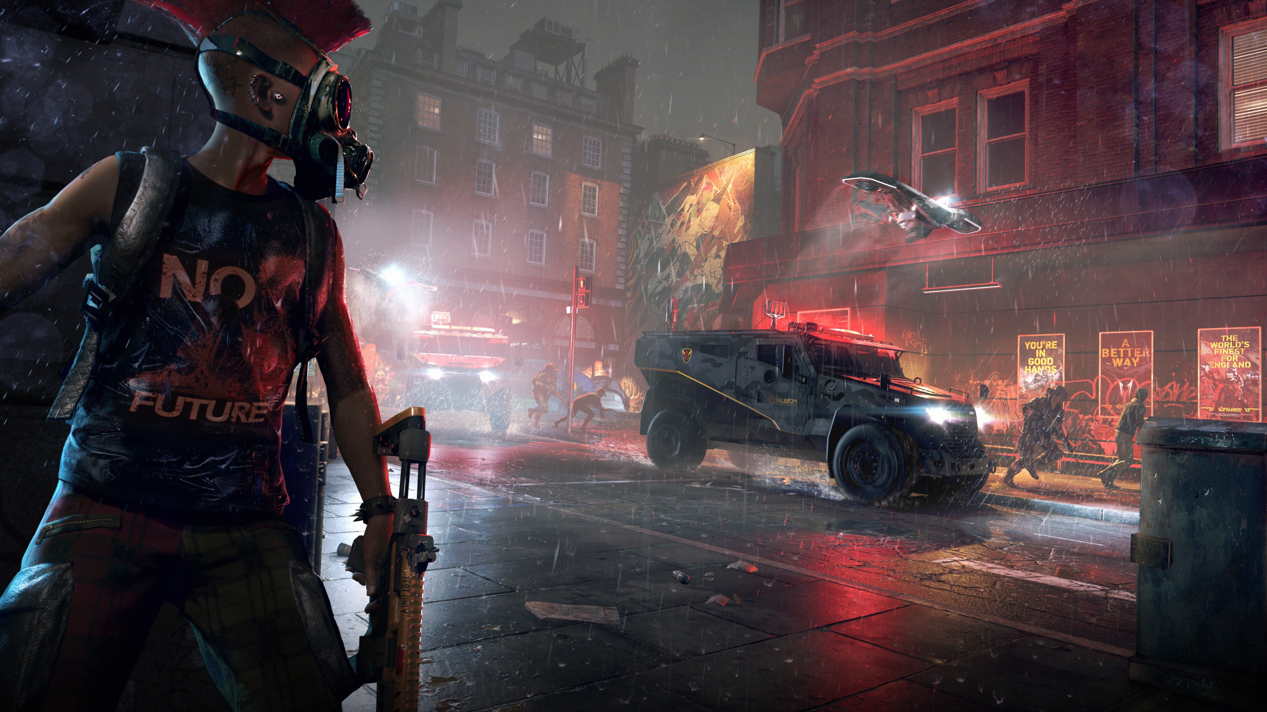 Watch Dogs: Legion wallpaper 2560x1440