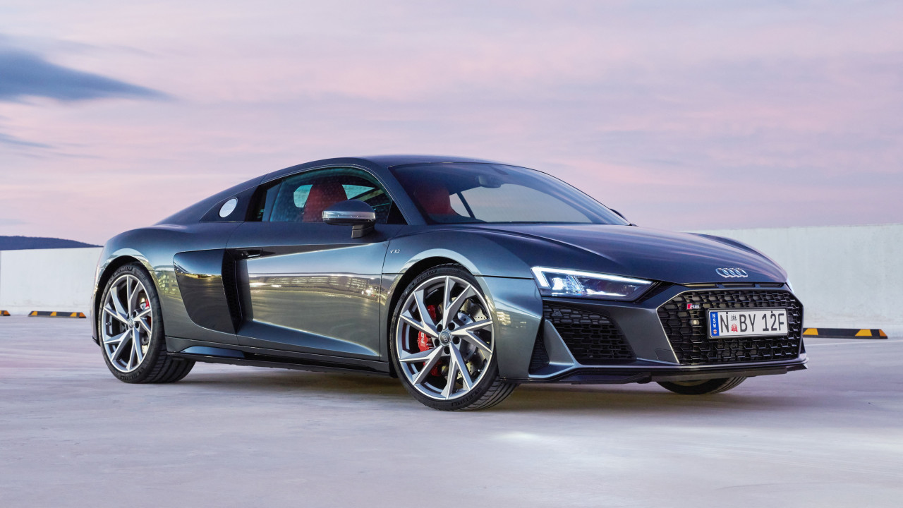 Audi R8 V10 RWD Coupe wallpaper 1280x720