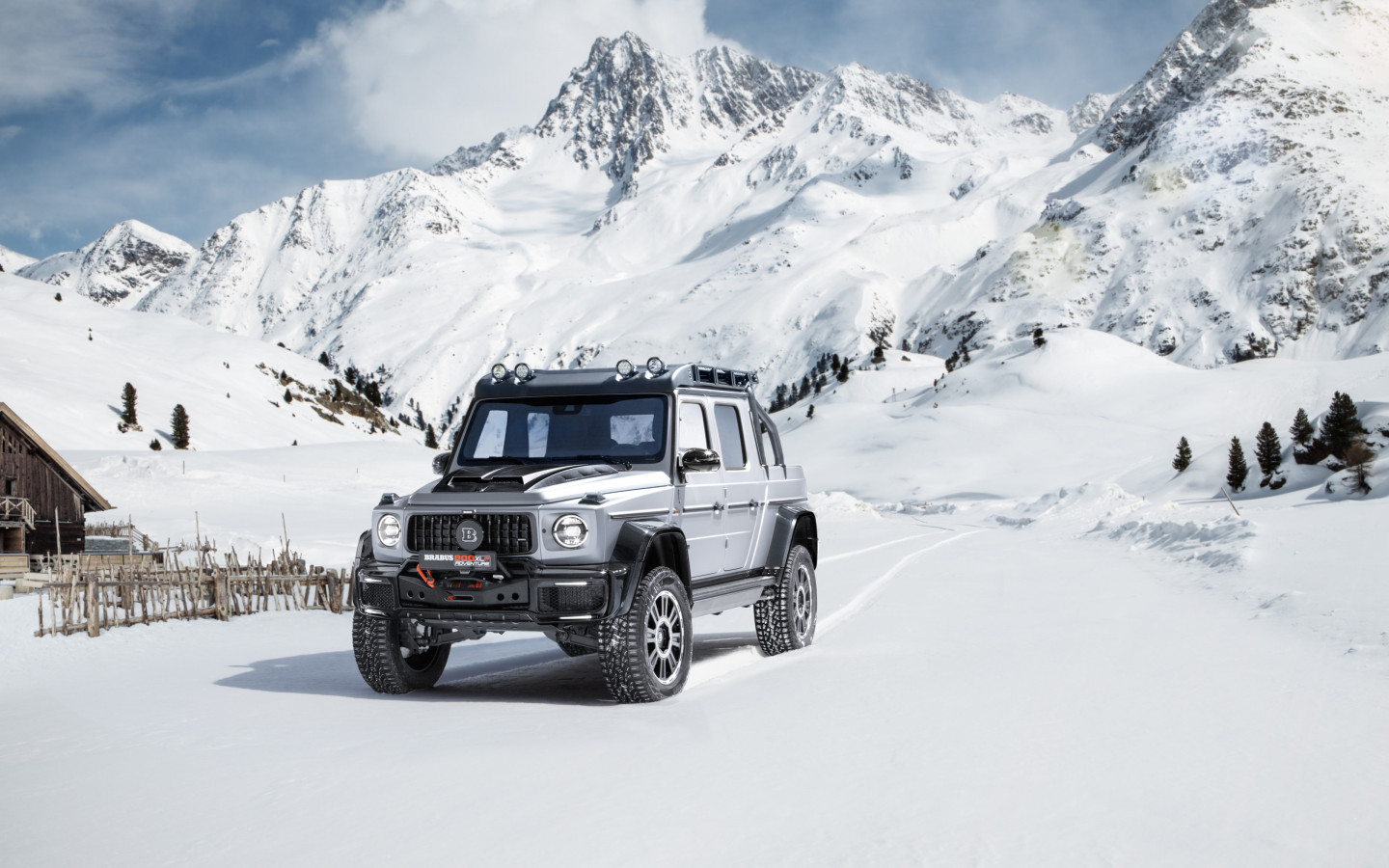 Mercedes Brabus 800 Adventure XLP wallpaper 1440x900