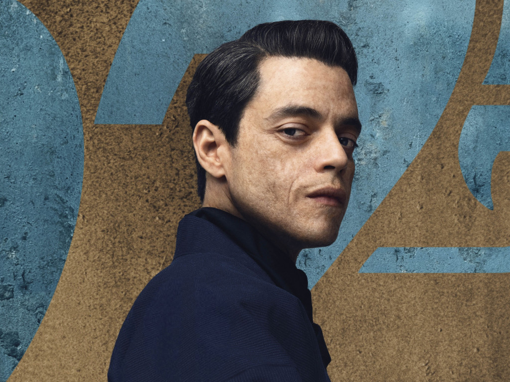 Rami Malek in No Time to Die 007 wallpaper 1024x768