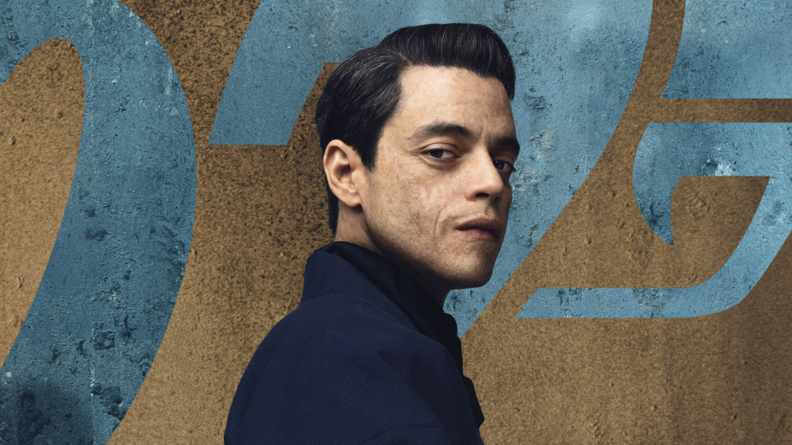 Rami Malek in No Time to Die 007 wallpaper 1600x900