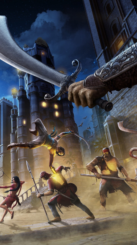 Prince of Persia: The Sands of Time Remake wallpaper 480x854