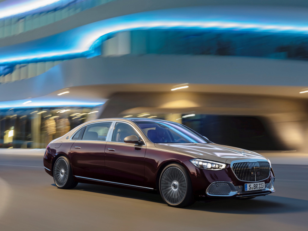 Mercedes Maybach S 580 wallpaper 1024x768