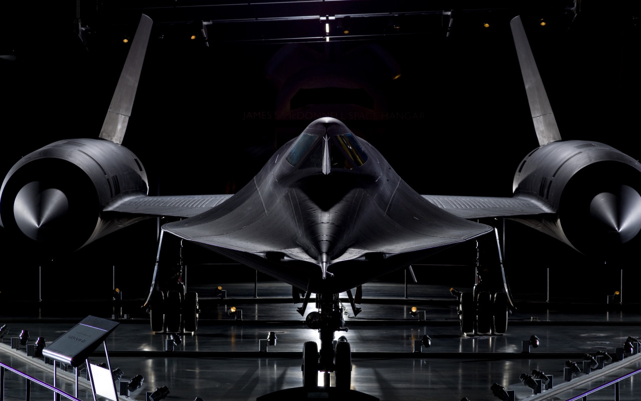 Lockheed SR 71 Blackbird wallpaper 1280x800