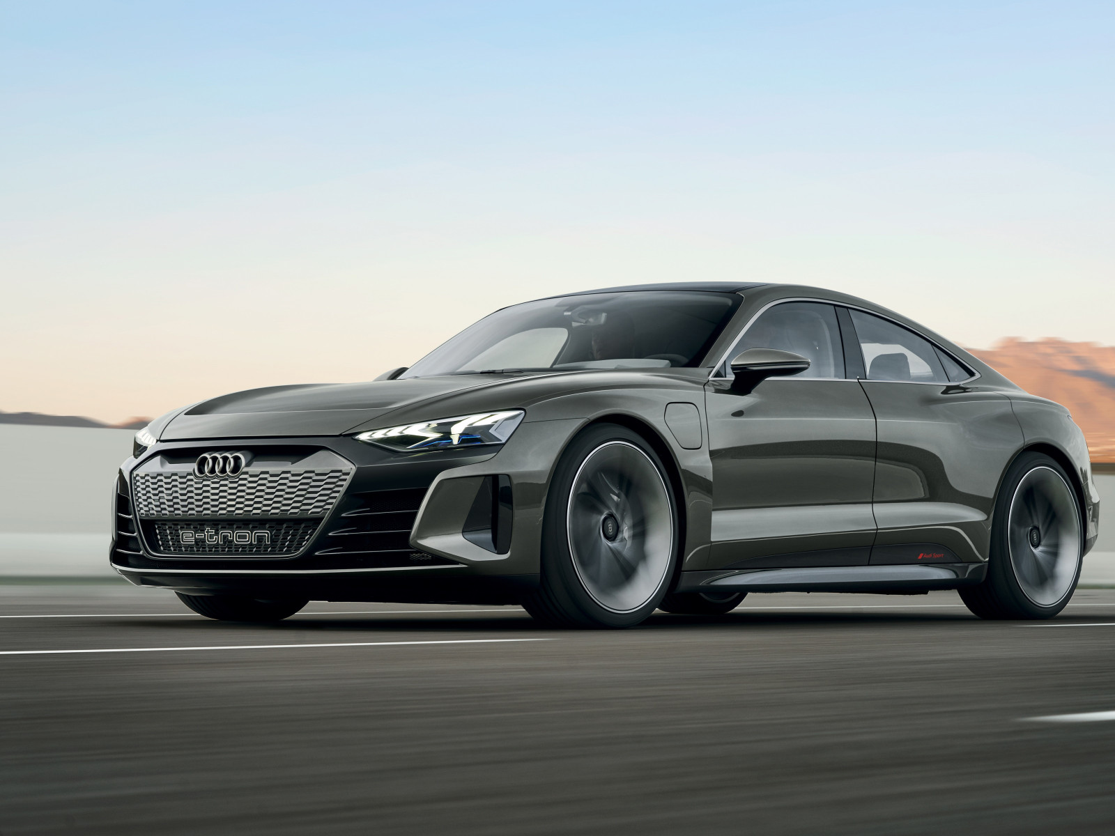 Audi E Tron GT wallpaper 1600x1200