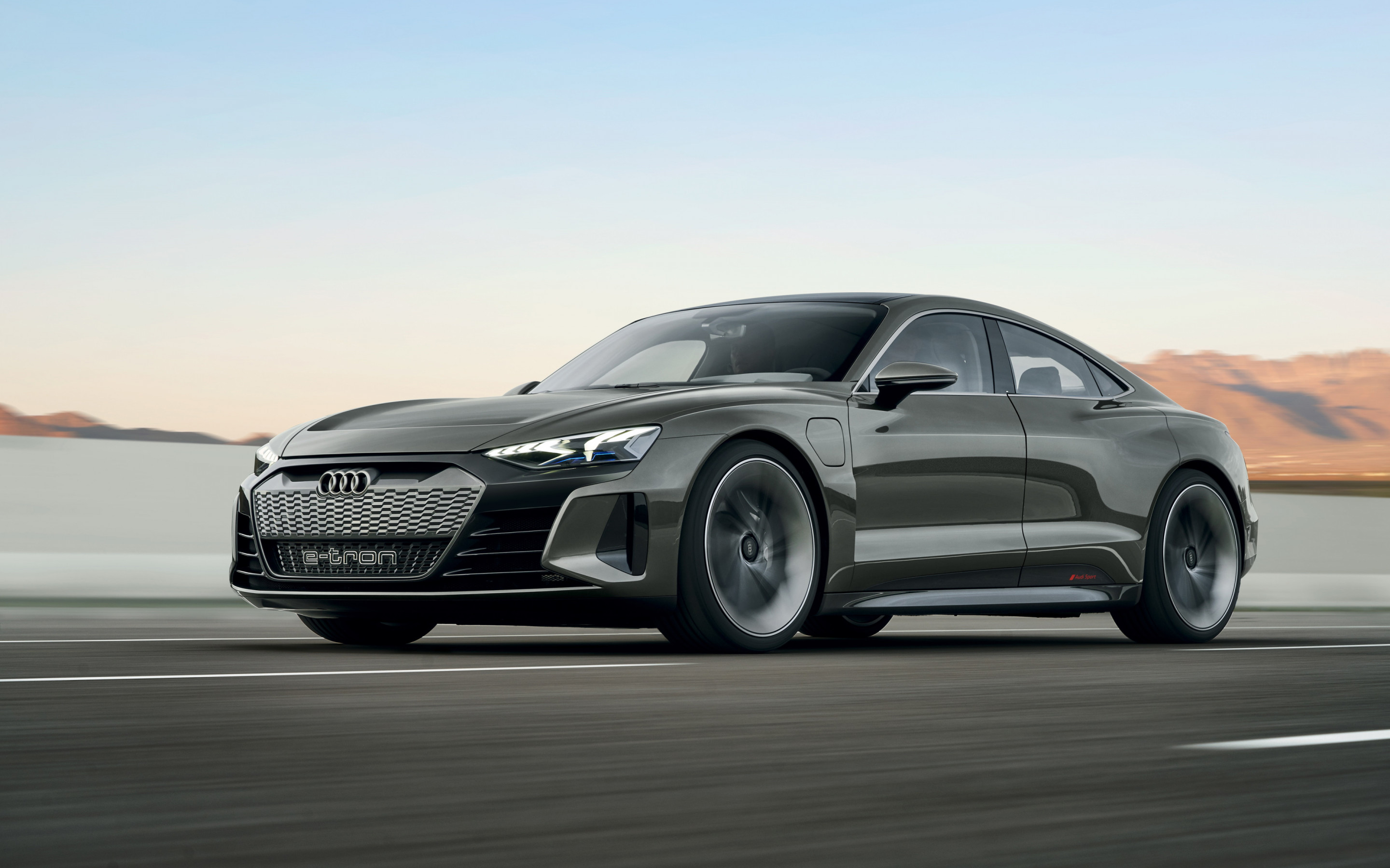 Audi E Tron GT wallpaper 2880x1800