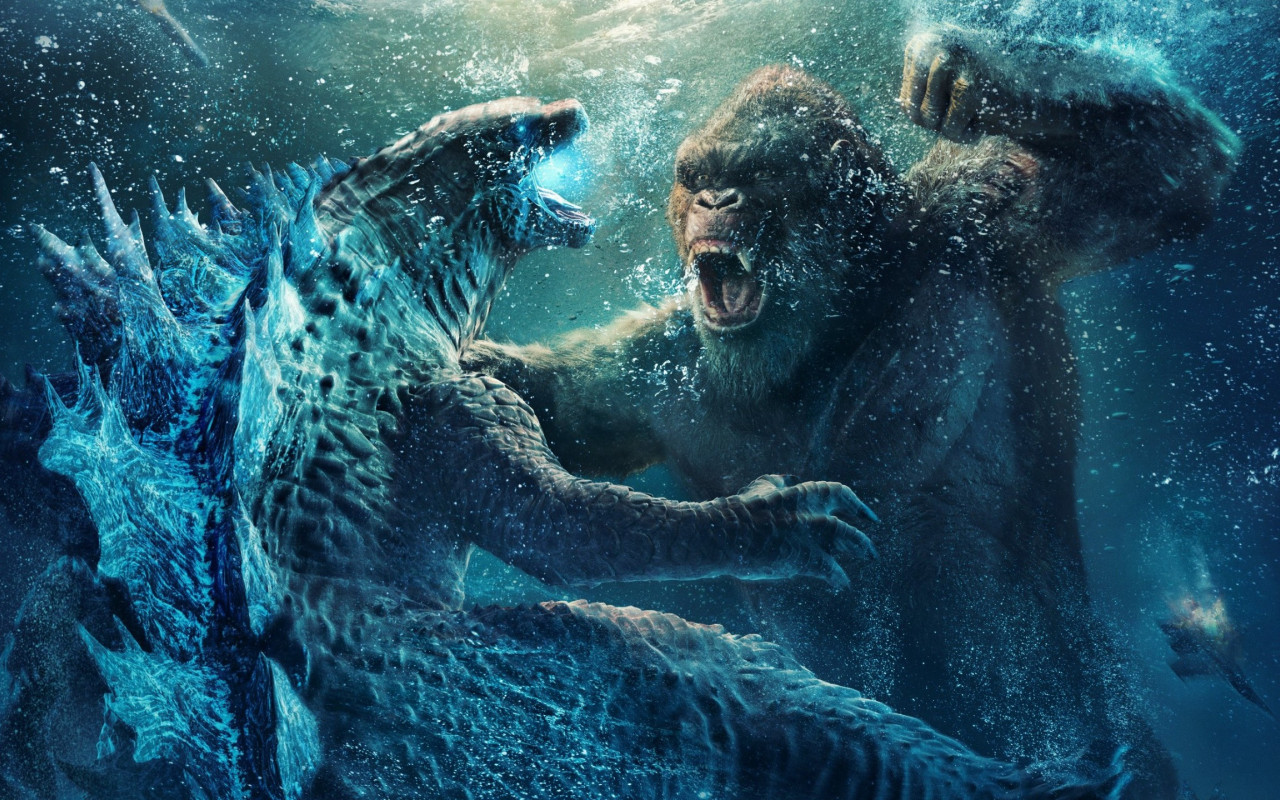 Godzilla vs Kong 2 wallpaper 1280x800